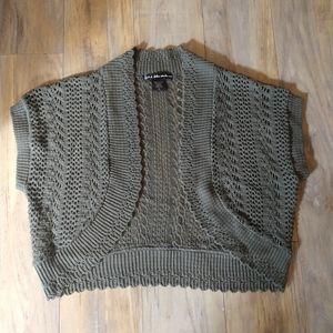 United States Sweater Cropped Cardigan